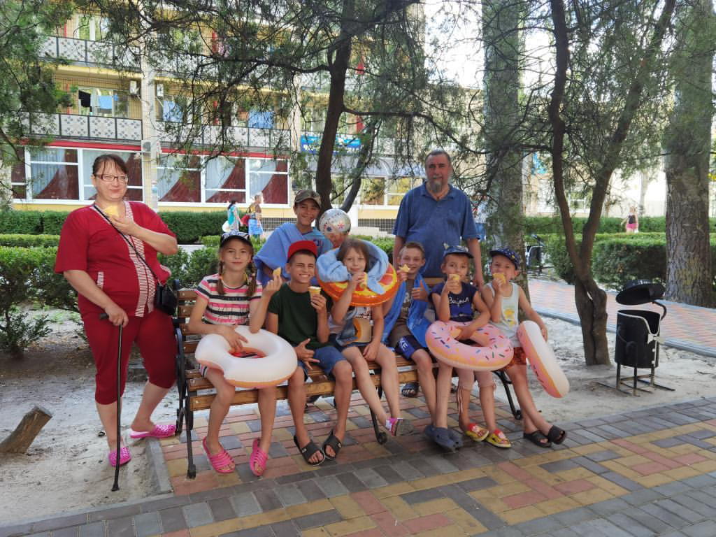 Звіт із подорожі родини Міщенко